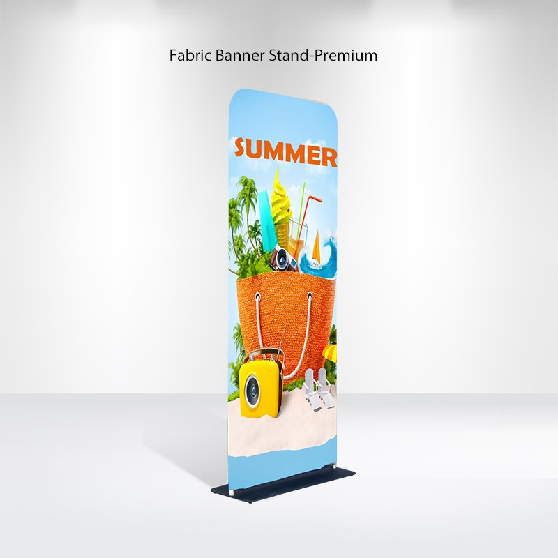 Fabric Banner Stand-Premium