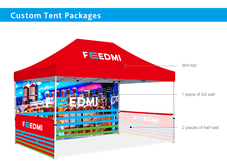 custom tent for advertising events