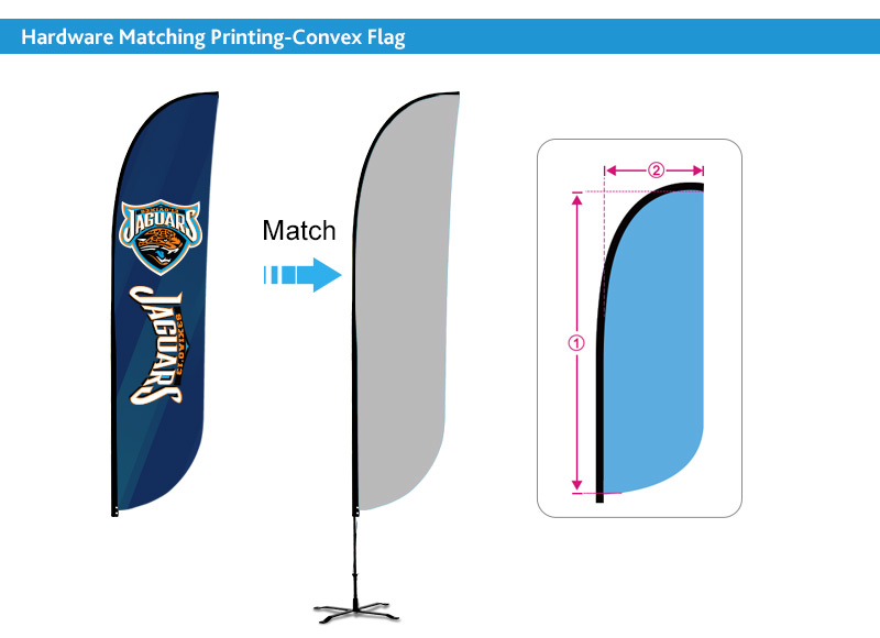 custom size advertising flags