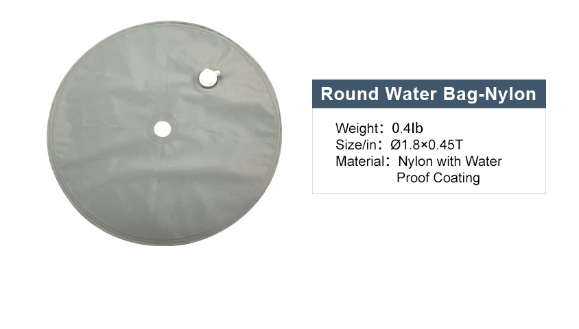 round water bag - nylon