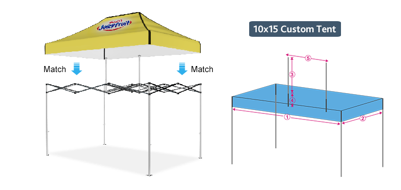 10x15 custom canopy