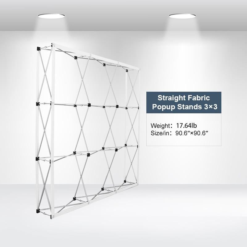 Straight Fabric Popup Displays