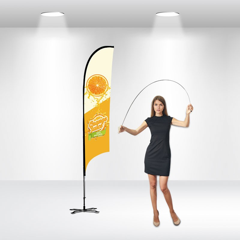 Advertising Flag-Concave