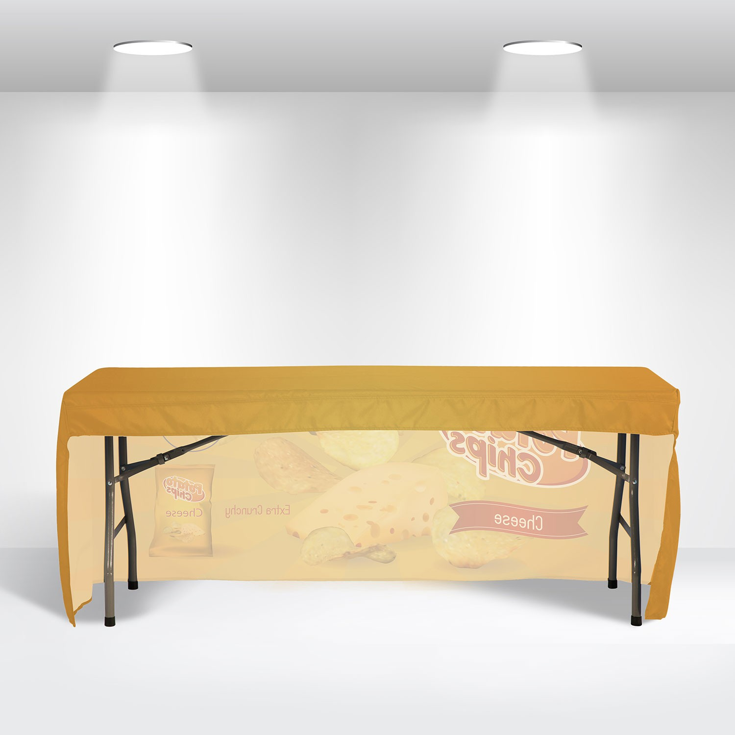 Fitted Table Covers with Open Back