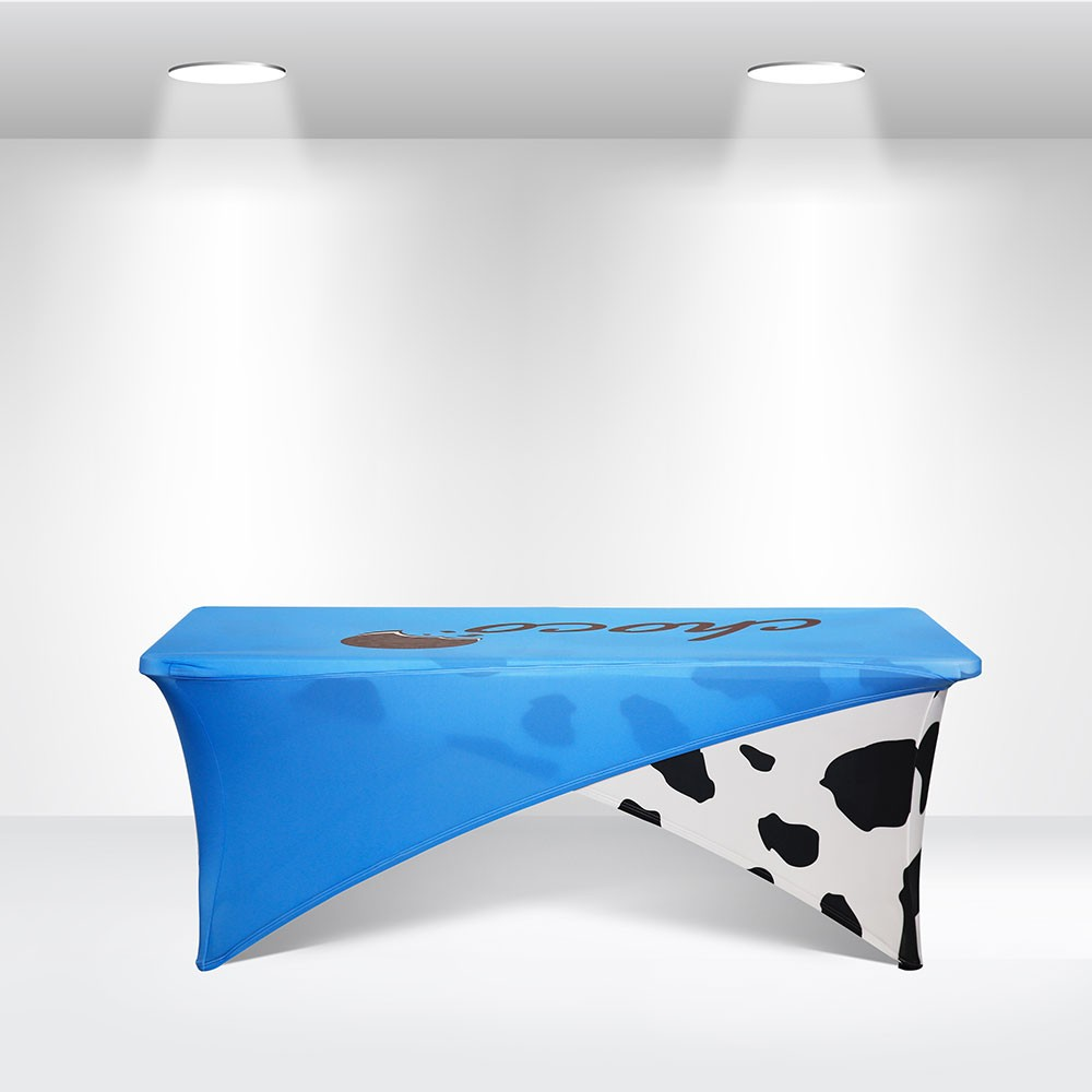 Cross-over Stretch Table Covers