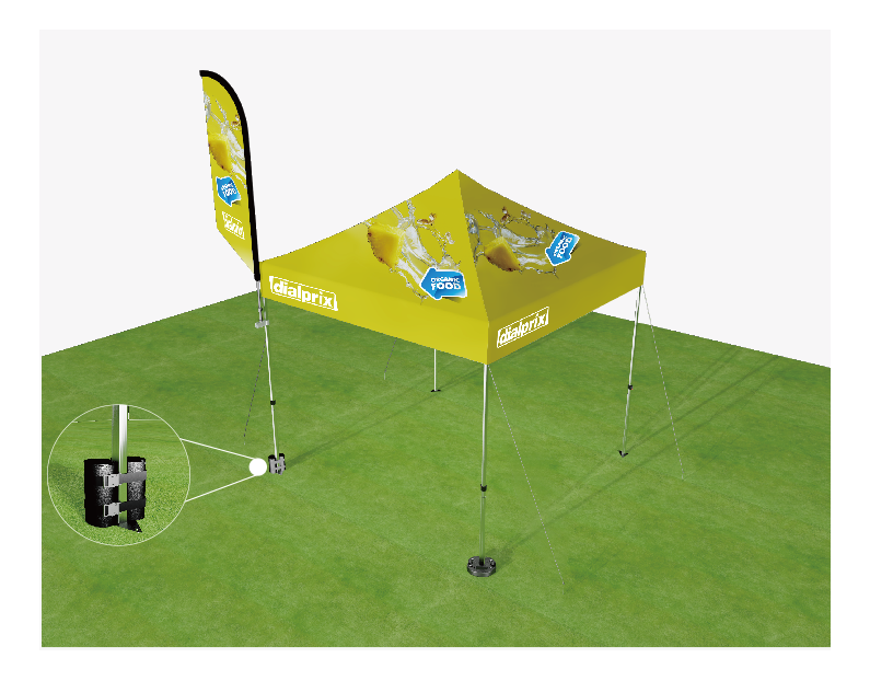 outdoor promotional tents