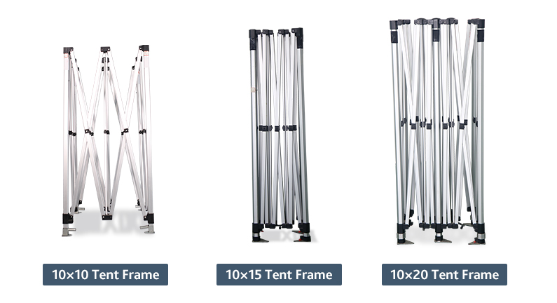 advertising tent frames