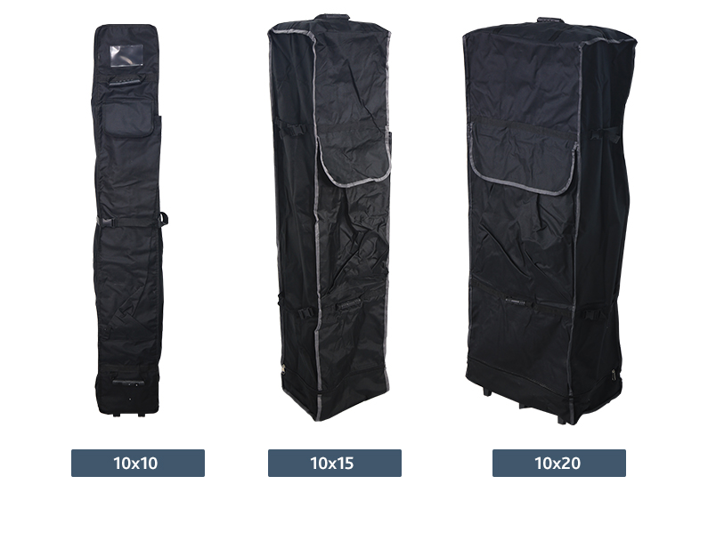 wheel bags for advertising canopy tents