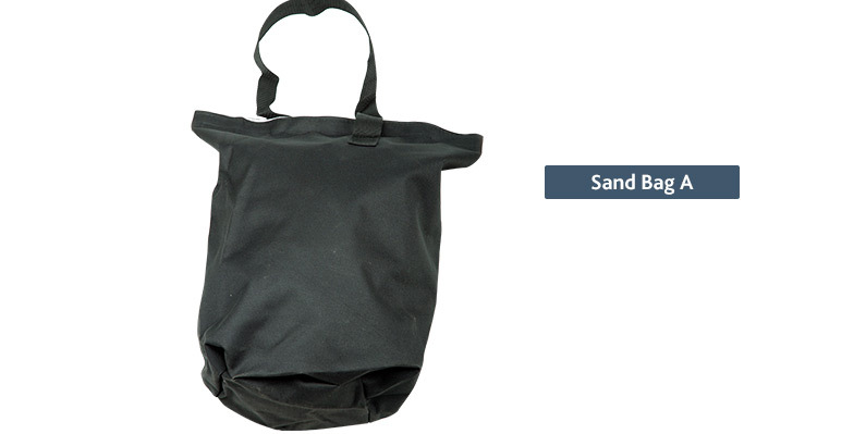 popup tent sand bags