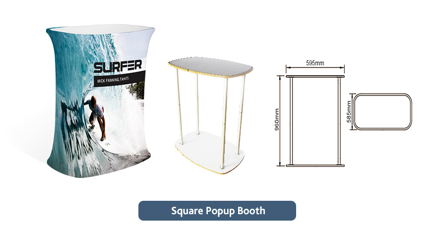 Trade Show Exhibition Pop Up Stands