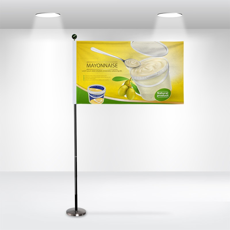 Custom Pole Sleeve Flags