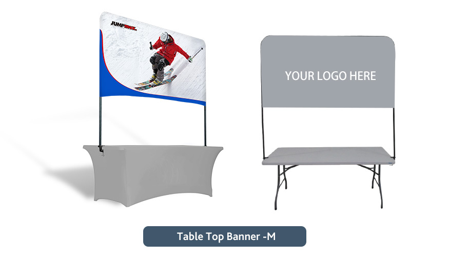 Portable Tabletop Banner Stand