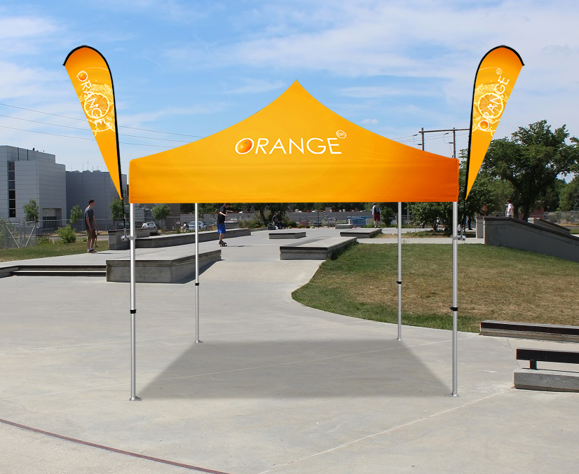 popup tents for advertising events