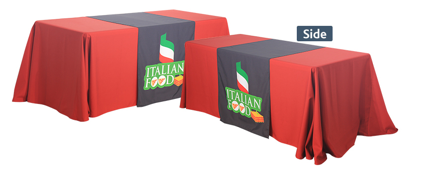 tradeshow table runners