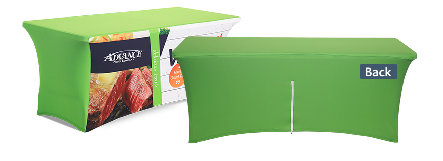 Stretch Table Covers with Zipper in back