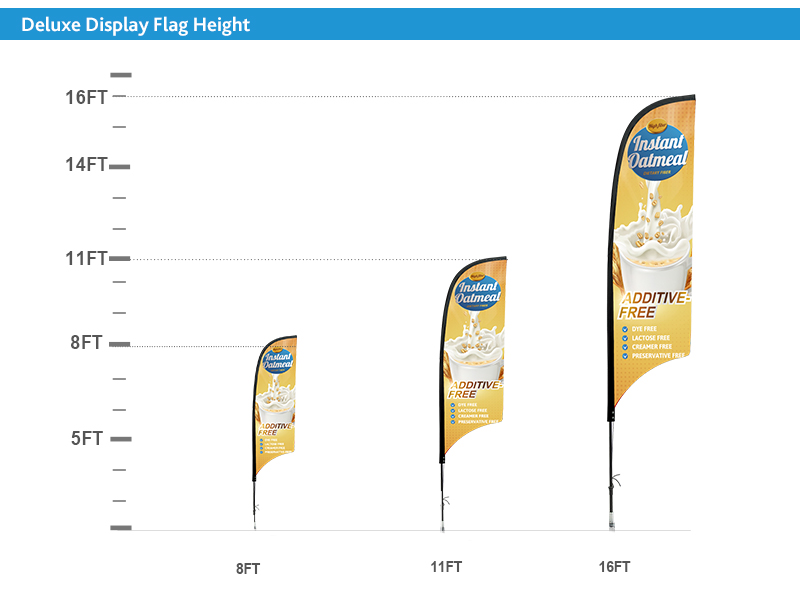 Concave Banner Flags - Promotional Flags