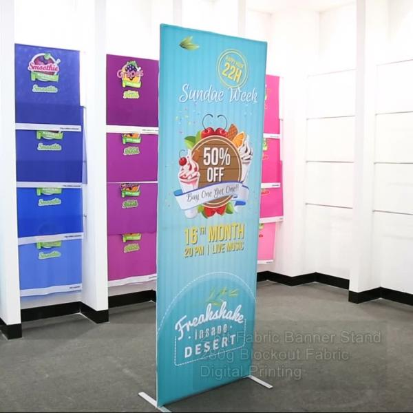 Fabric Banner Stand- Standard
