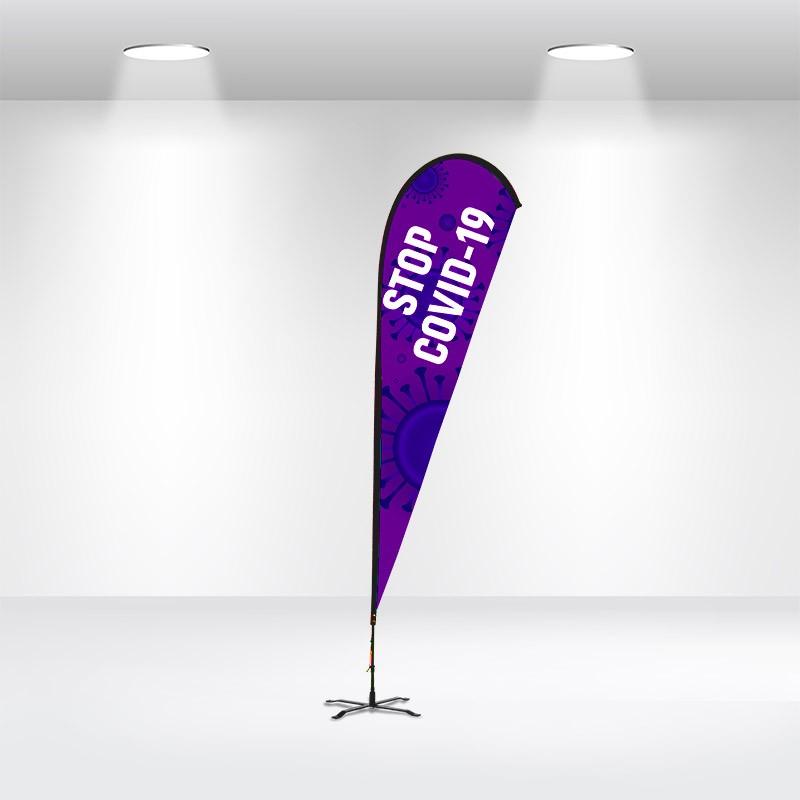 Advertising Flag-Teardrop