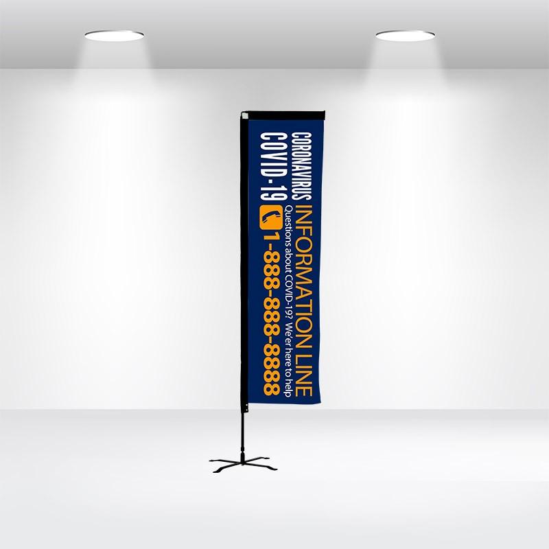 Advertising Flag-Rectangle