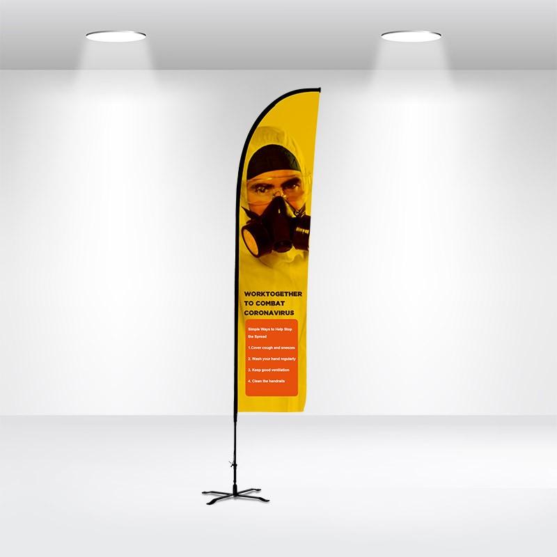 Advertising Flag-Straight