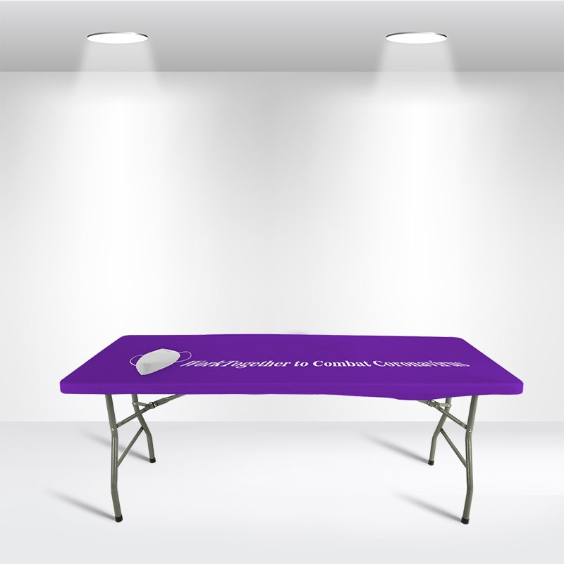 Square Stretch Table Topper