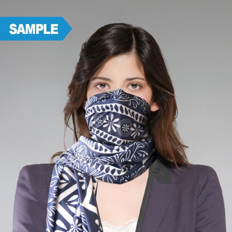 Custom Printed Scarves Sample