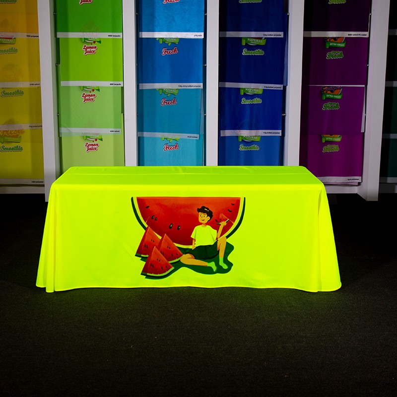 Fluorescent Table Covers Sample