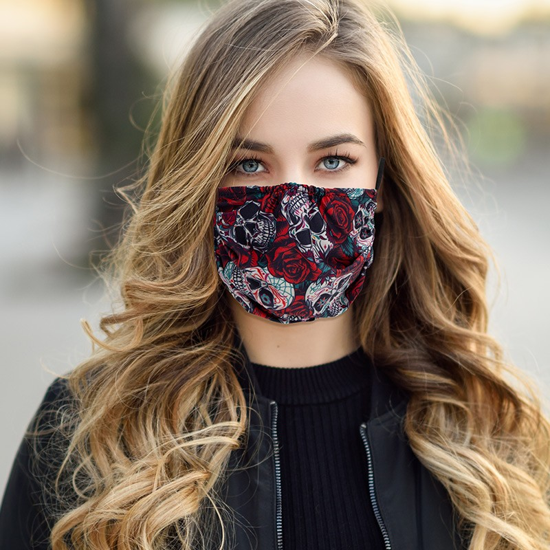 Standard Fabric Face Mask Sample