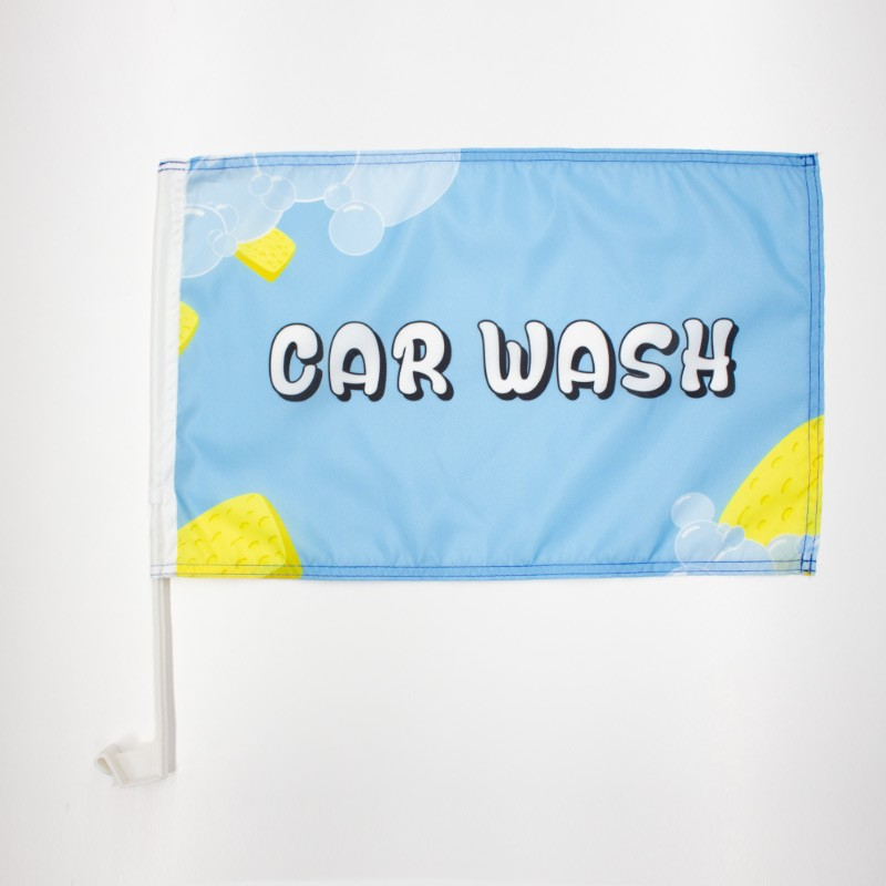 Premium Reopening Car Flag