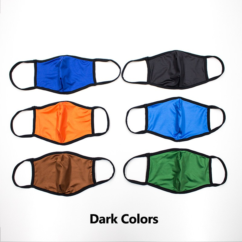 3D Fashion Color Face Masks