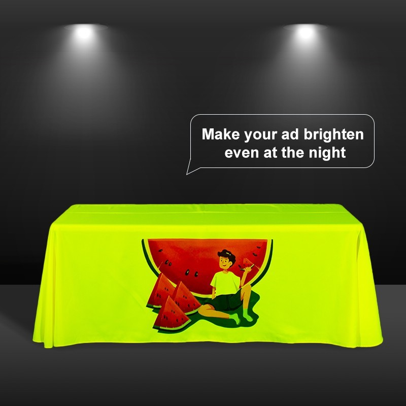 Fluorescent Standard Table Covers