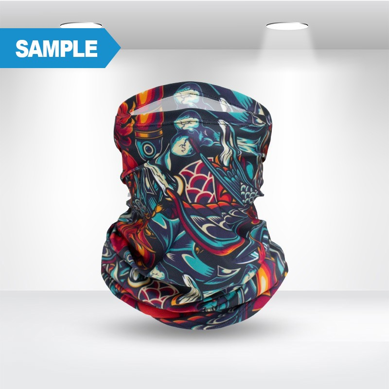 Custom Printed Headwear Sample