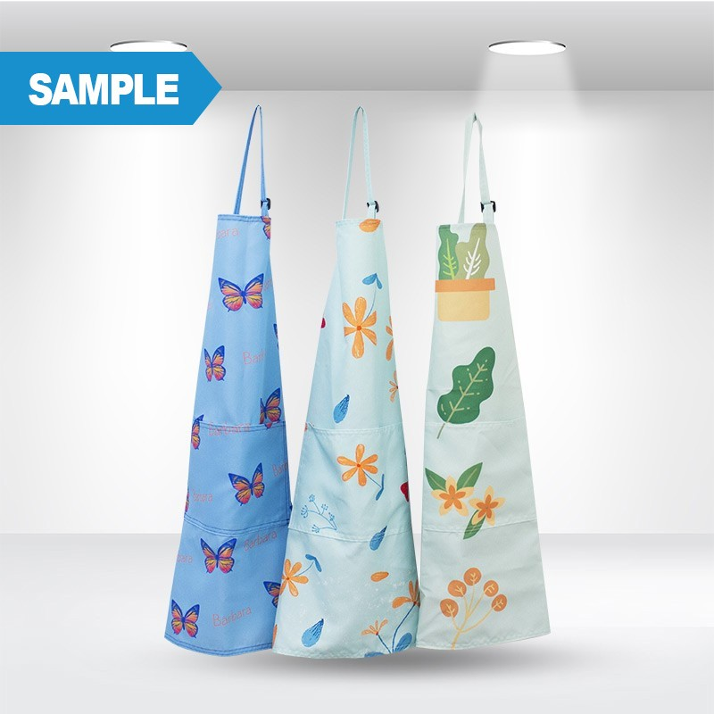 Custom Printed Aprons Sample