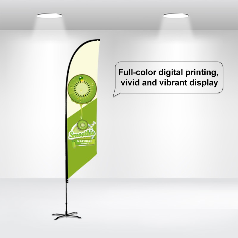 Advertising Flag-Angled