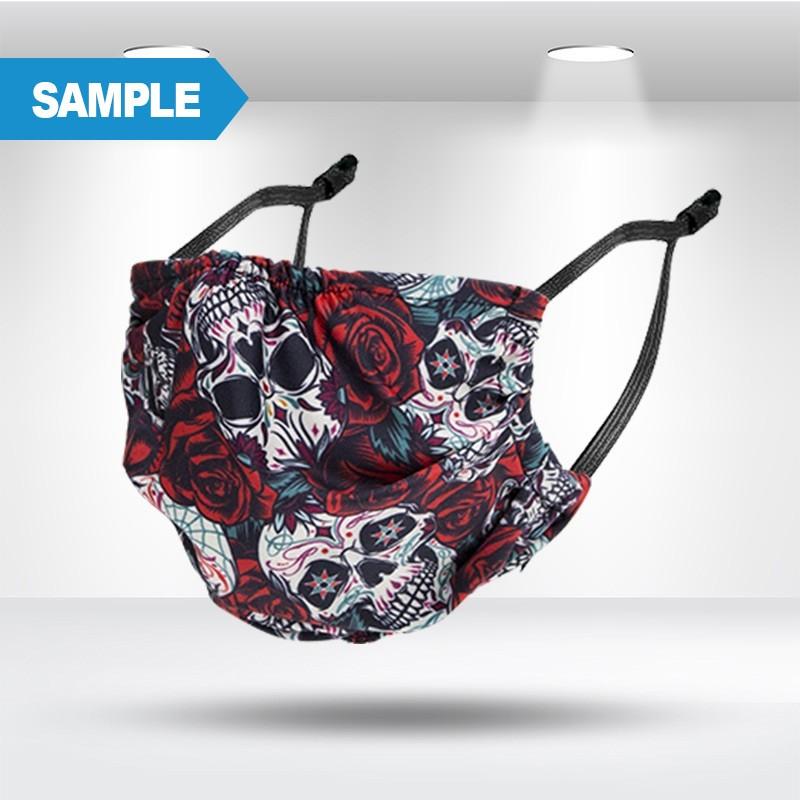Anti-bacterial Fabric Mask Sample