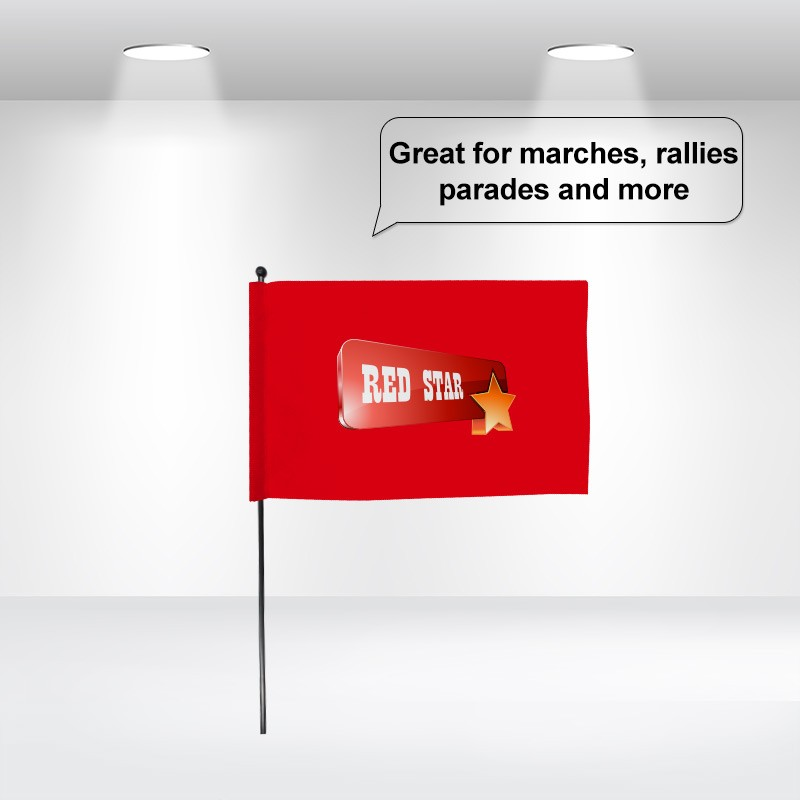 8x12''Hand Flags
