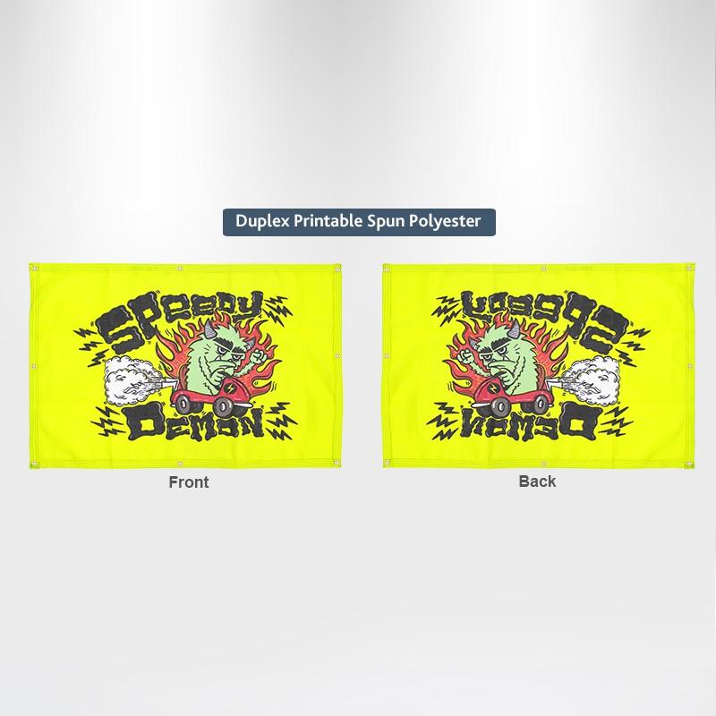 Duplex Printing Custom Banners