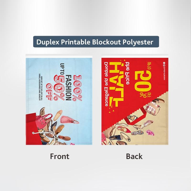Duplex Printing Custom Pole Sleeve Flags