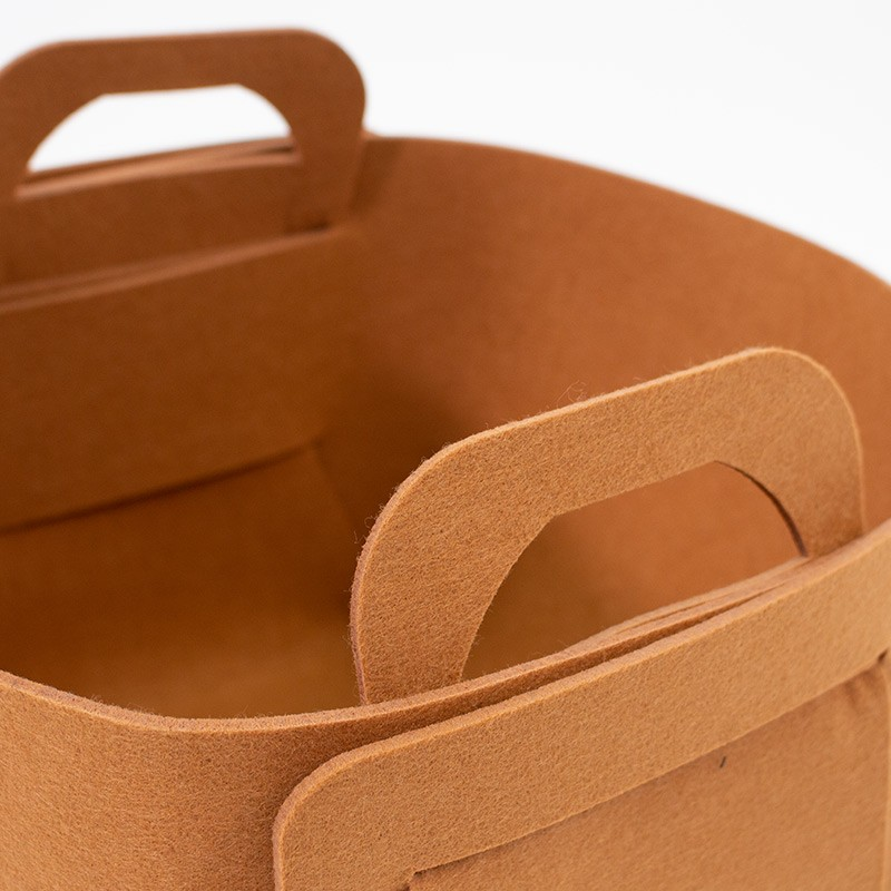 Foldable Felt Storage Basket