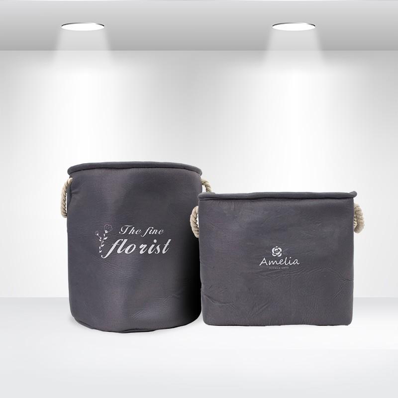 Custom Fabric Storage Bucket