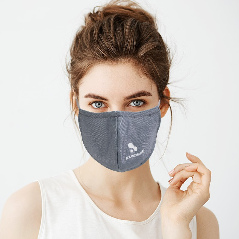 3D Face Mask With Nose Bridge