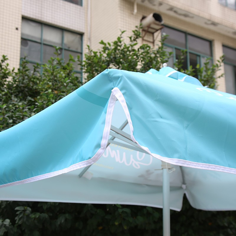 2x2m Square Patio Umbrellas With Valances
