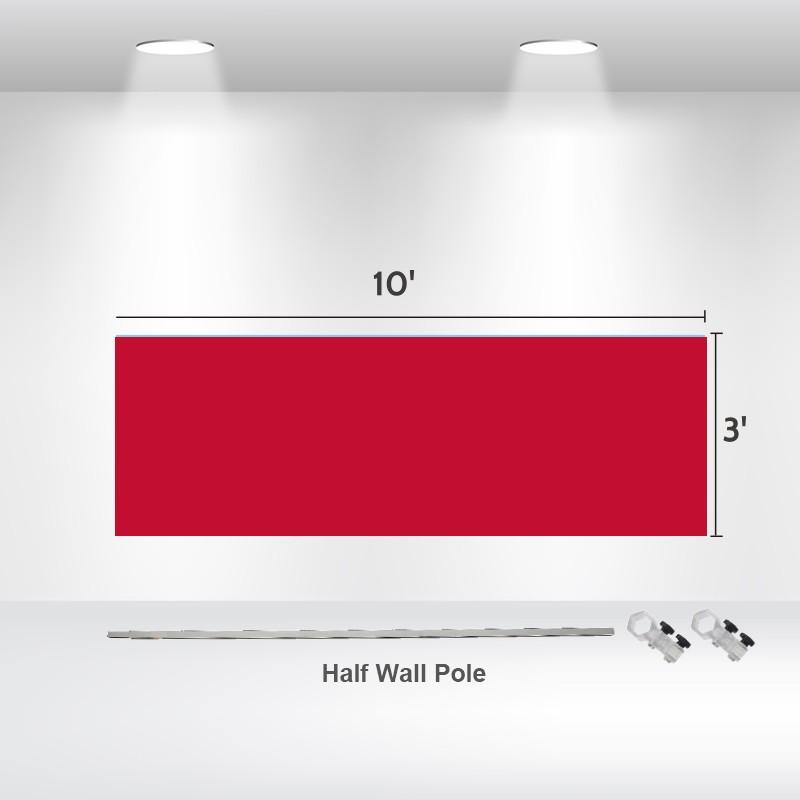 Blank Half Wall