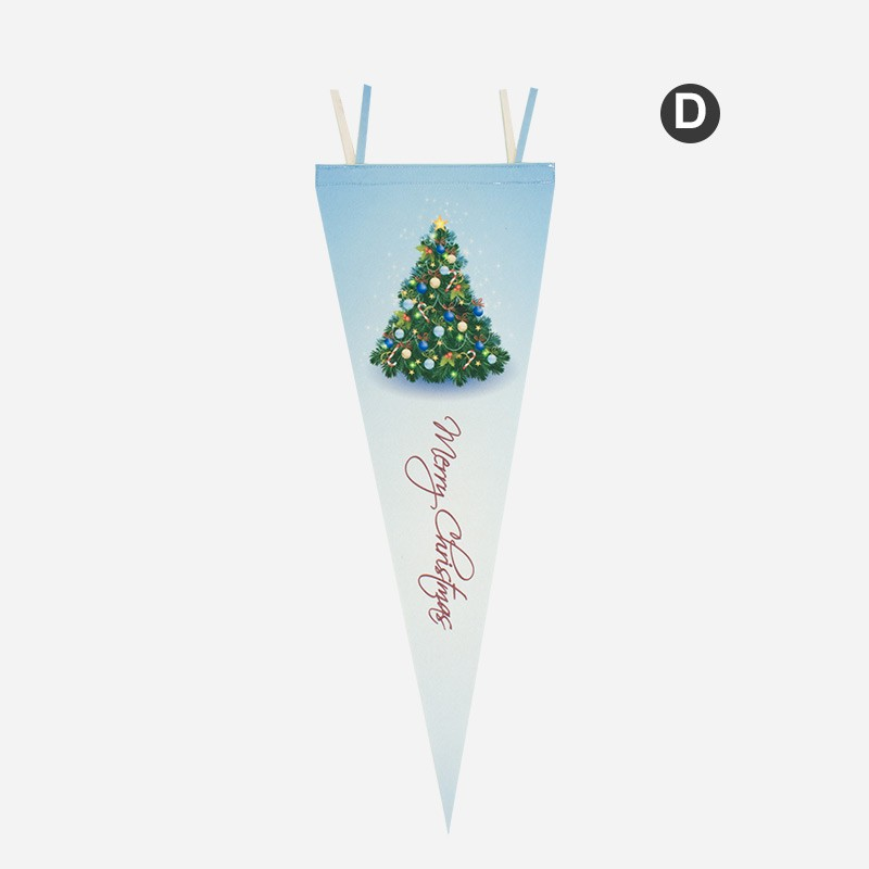 Christmas Felt Flag