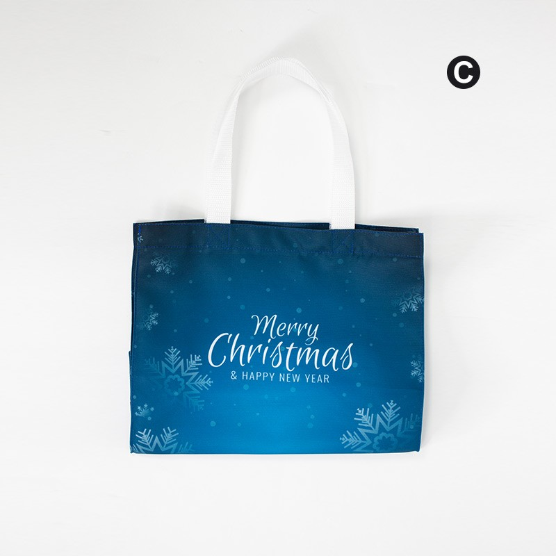 Christmas Promotional Grocery Tote